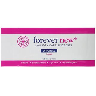 Forever New, Fabric Care Wash, Liquid, Original, 1/3 fl oz (10 ml)