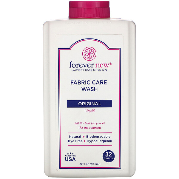 Fabric Care Wash, Liquid, Original, 32 fl oz (496 ml)