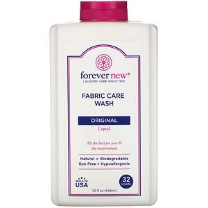 Forever New, Fabric Care Wash, Liquid, Original, 32 fl oz (496 ml)