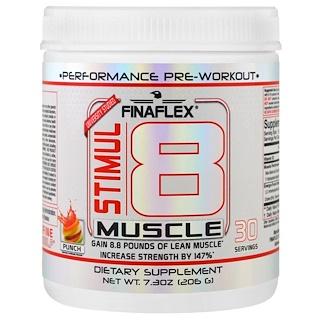 Finaflex, Stimul8 мускул, пунш, 7,30 унции (206 г)
