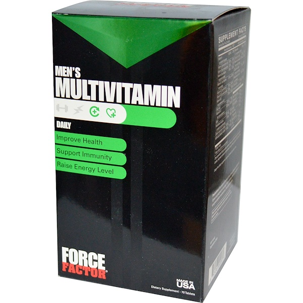 Force Factor, Men's Multivitamin, 70 Tablets (Discontinued Item)