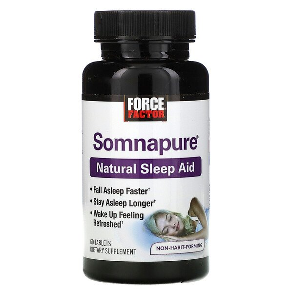 Somnapure, Natural Sleep Aid, 60 Tablets