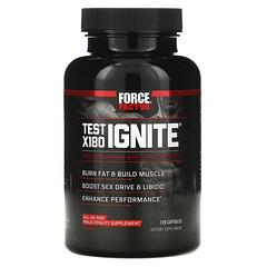 Force Factor, Test X180 Ignite,游離睾酮促進劑和脂肪消耗劑,120 粒膠囊