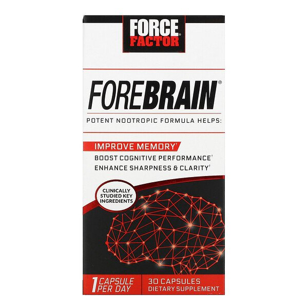 Force Factor, Forebrain, 30 Capsules