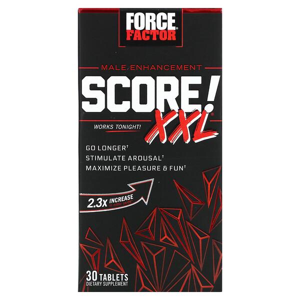 Score! XXL، معزِّز الرجولة، 30 قرصًا