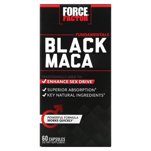 Maca Negra, 60 Cápsulas