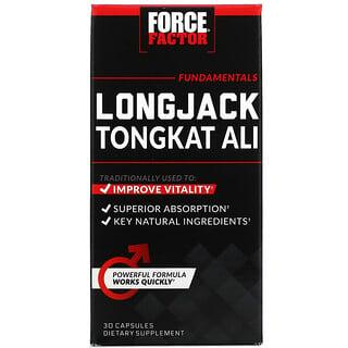 Force Factor, Ginseng de Malasia tongkatali, 500mg, 30cápsulas
