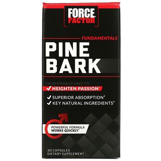 Force Factor, 鬆樹皮,600 毫克,30 粒膠囊