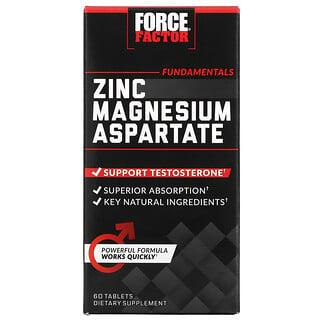 Force Factor, 天冬氨酸镁锌片剂,60 片