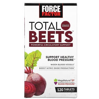 Force Factor, Total Beets,強大的循環系統支持,120 片