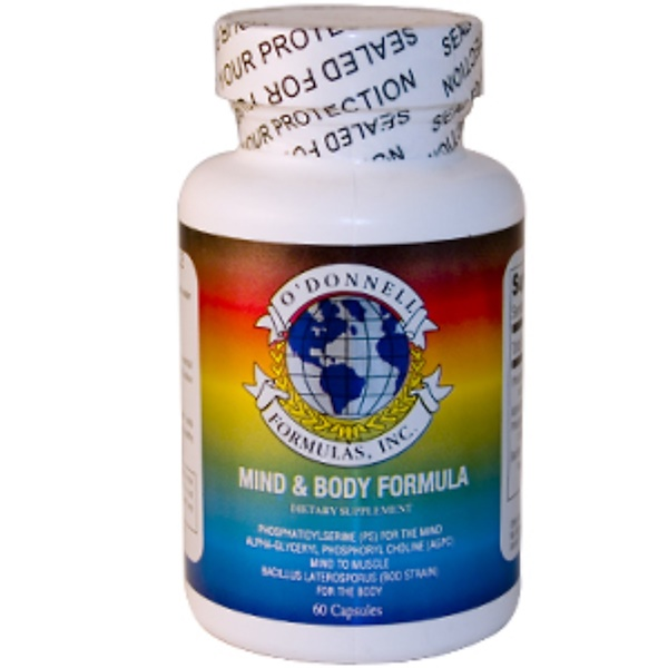O'Donnell Formulas, Mind & Body Formula, 60 Capsules (Discontinued Item)