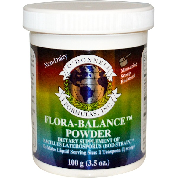 O'Donnell Formulas, Flora-Balance, Powder, 3.5 oz (100 g)