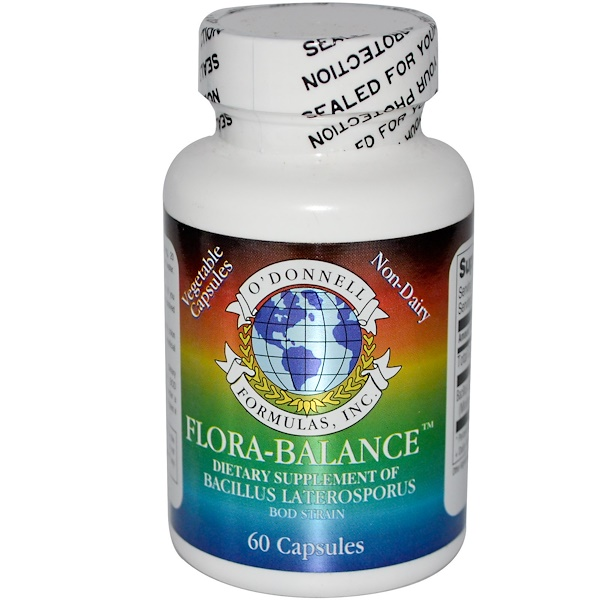 O'Donnell Formulas, O'Donnell Formulas, Flora-Balance, 60 Capsules (Discontinued Item)