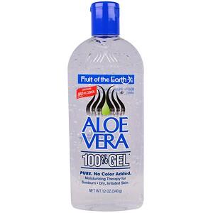 Фрут оф де Ёрт, Aloe Vera 100% Gel, 12 oz (340 g) отзывы покупателей