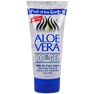 Fruit of the Earth, Aloe Vera 100% Gel, 6 oz (170 g)