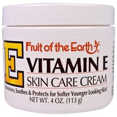 Купить Витамин E, крем по уходу за кожей, 4 унции(113 г)
