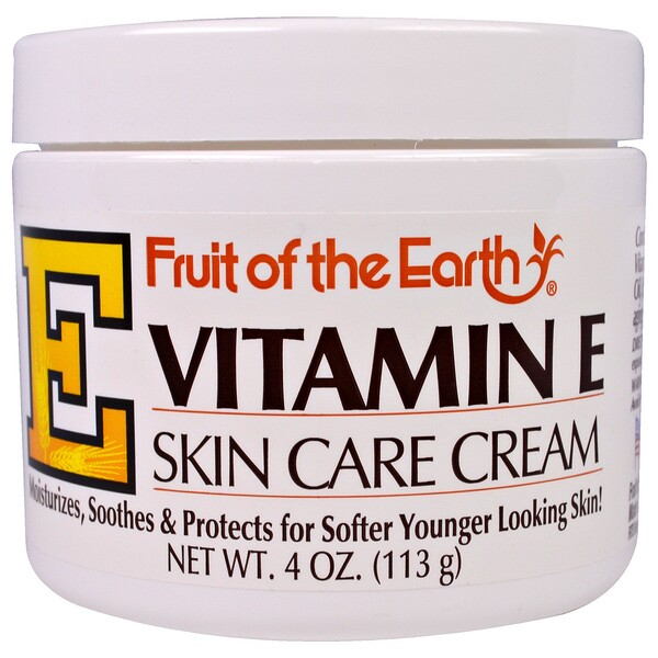 Fruit of the Earth, Vitamin E, Skin Care Cream, 4 oz (113 g)