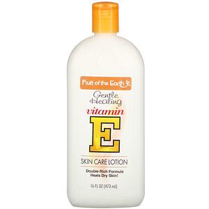 Фрут оф де Ёрт, Vitamin E Skin Care Lotion, 16 fl oz (473 ml) отзывы