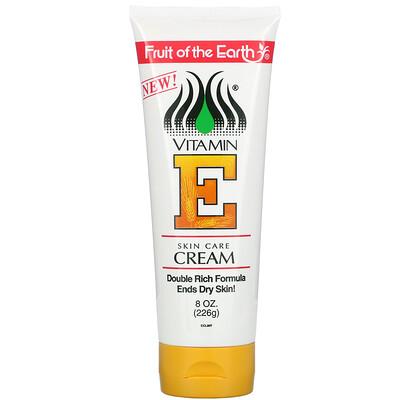 Купить Fruit of the Earth Vitamin E, Skin Care Cream, 8 oz (226 g)