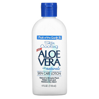 Fruit of the Earth, Aloe Vera with Naturals, Skin Care Lotion, 4 fl oz (118 ml)