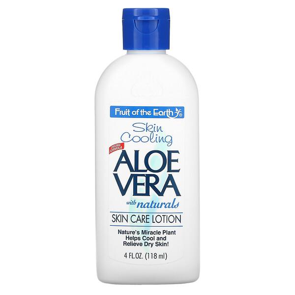 Aloe Vera with Naturals, Skin Care Lotion, 4 fl oz (118 ml)