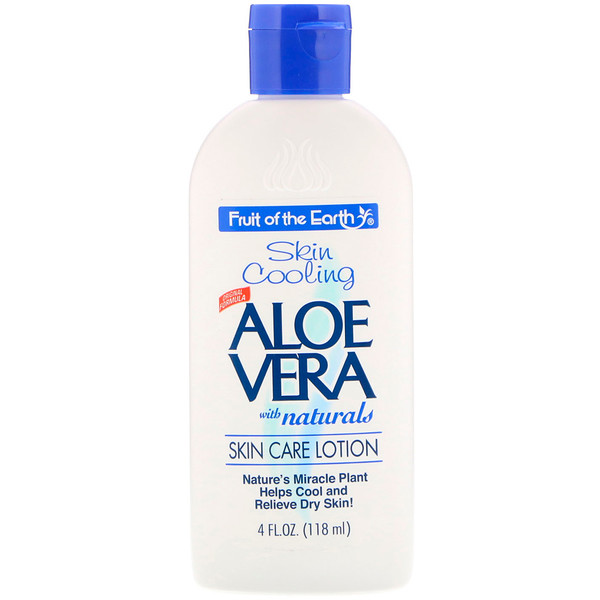 Aloe Vera with Naturals, Skin Care Lotion, 4 fl oz (118 ml)