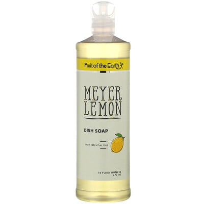 Купить Fruit of the Earth Meyer Lemon Dish Soap, 16 fl oz (473 ml)