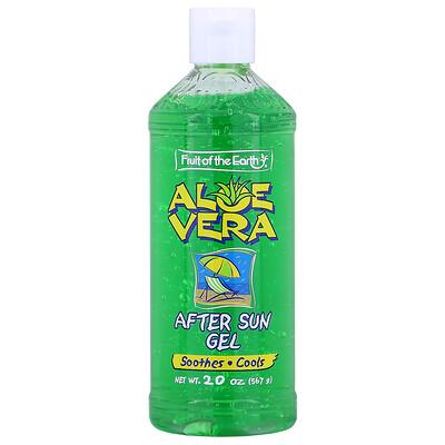 Купить Fruit of the Earth Aloe Vera, After Sun Gel, 20 oz (567 g)