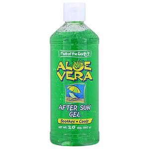 Фрут оф де Ёрт, Aloe Vera, After Sun Gel, 20 oz (567 g) отзывы