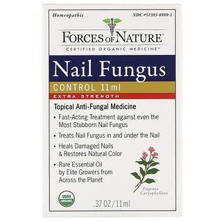 Forces of Nature, 指甲真菌控制劑,特強型,0.37 盎司(11 毫升)