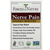 Forces of Nature, Nerve Pain, Organic Medicine, 0.37 oz (11 ml)