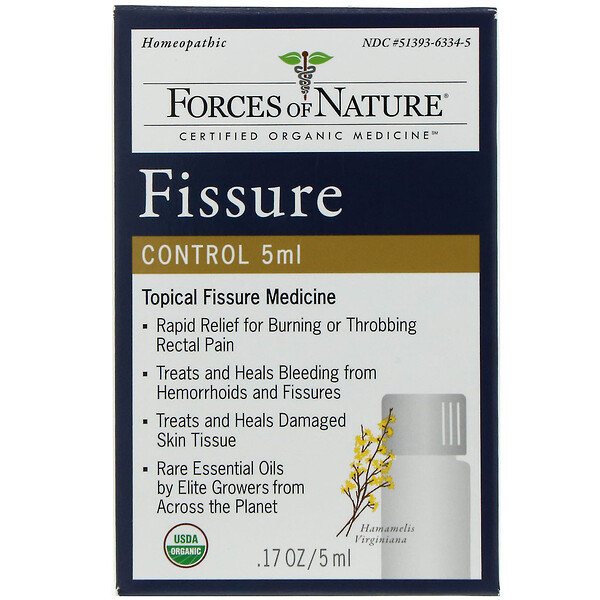 Forces of Nature, Fissure Control, 0.17 oz (5 ml)