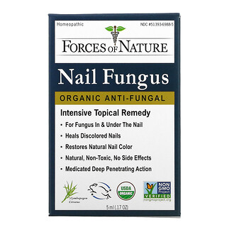 Forces of Nature, Nail Fungus, Intensive Topical Remedy, 0.17 oz (5 ml)