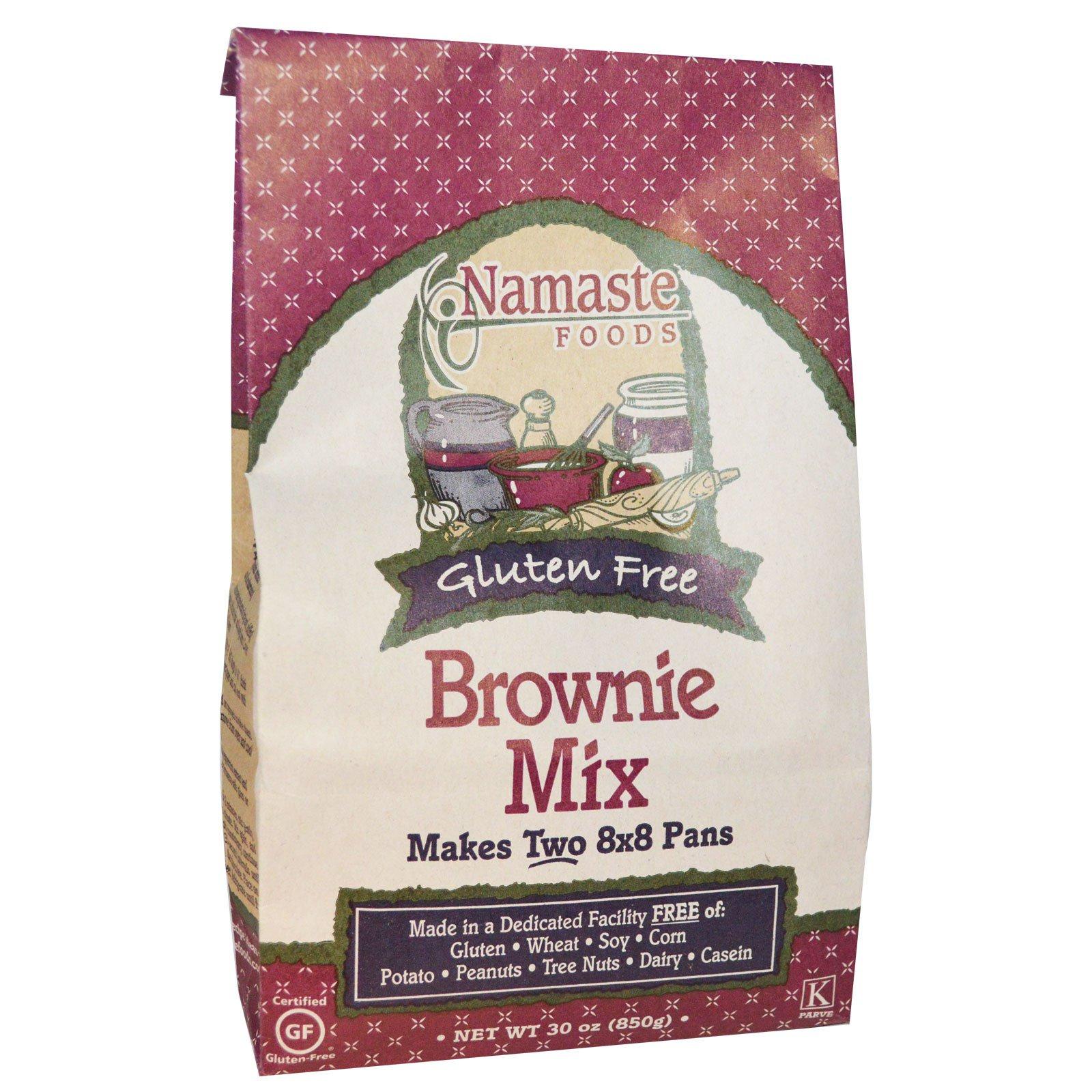 Namaste Foods, Смесь для приготовления брауни, без глютена, 30 унций (850 г)