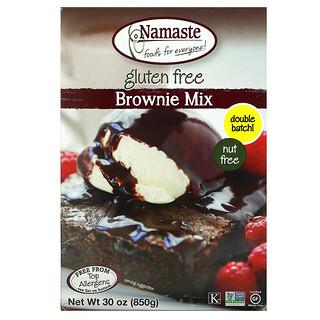 Namaste Foods, Brownie Mix, Gluten Free, 30 oz (850 g)