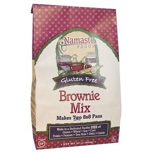 Намастэ Фудс, Brownie Mix, Gluten Free, 30 oz (850 g) отзывы