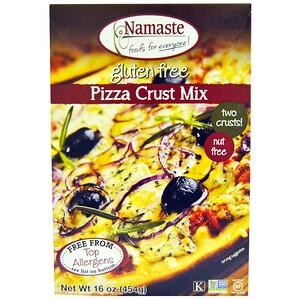 Намастэ Фудс, Pizza Crust Mix, Gluten Free, 16 oz (454 g) отзывы покупателей