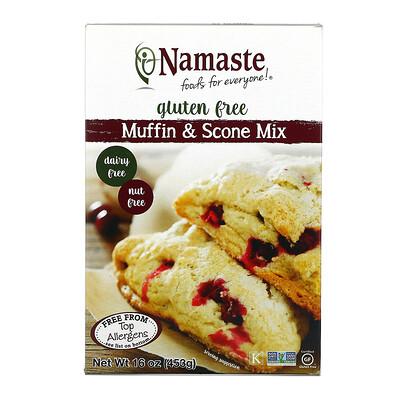 Купить Namaste Foods Gluten Free Muffin Mix, 16 oz (453 g)