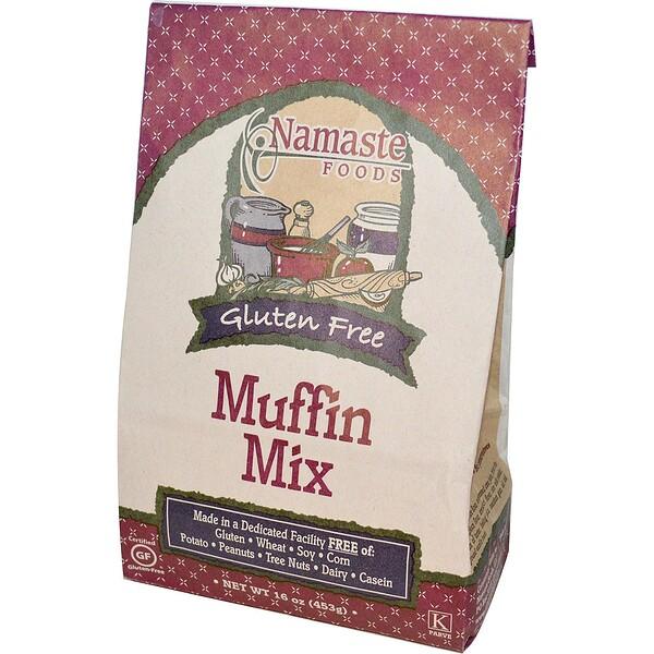 Namaste Foods, Gluten Free Muffin Mix, 16 oz (453 g) (Discontinued Item)