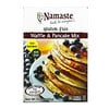 Namaste Foods, 글루텐 프리 와플 & 팬케이크 믹스, 21 온스 (595 g)
