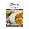 Namaste Foods, Смесь для ванильного пирога, без глютена, 737 г