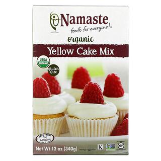 Namaste Foods, Organic, Yellow Cake Mix, 12 oz (340 g)