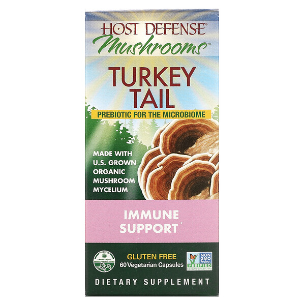 Turkey Tail, 60 Vegetarian Capsules