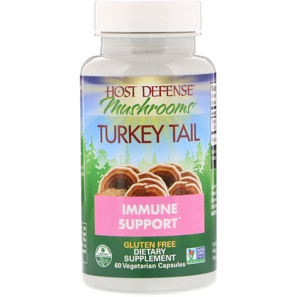 Turkey Tail, 60 Vegetarian Capsules