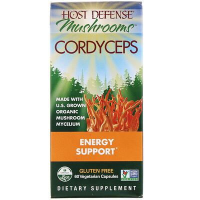 Купить Кордицепс военный для защиты организма из серии Грибы для защиты организма , грибной энергетик на основе кордицепса военного, 60 капсул в растительной оболочке