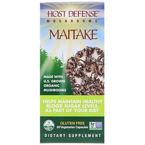 Фунги Перфекти, Mushrooms, Organic Maitake, 60 Vegetarian Capsules отзывы