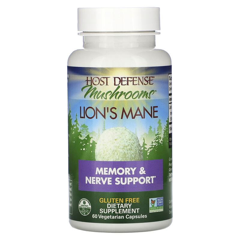 Kosttilskuddet Lions Mane fra Fungi Perfecti