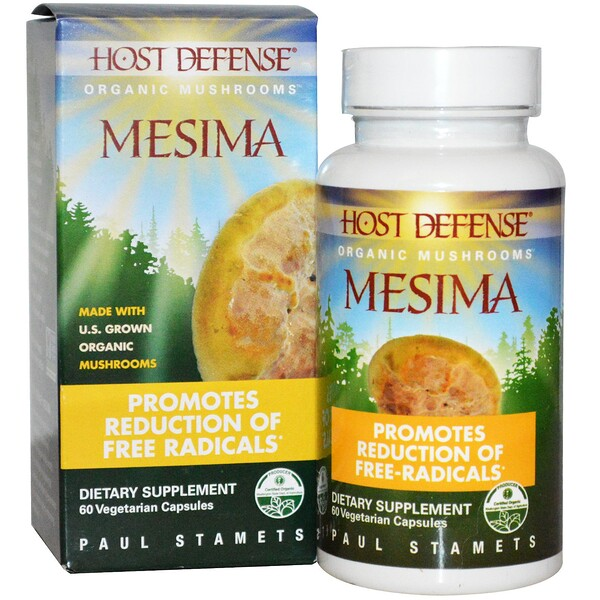 Fungi Perfecti, Mesima, 60 Cápsulas Vegetarianas