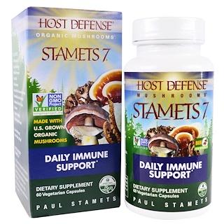 Fungi Perfecti, Stamets 7, Daily Immune Support, 60 Veggie Caps