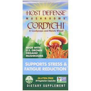 Фунги Перфекти, Cordychi, Supports Stress & Fatigue Reduction, 30 Vegetarian Capsules отзывы